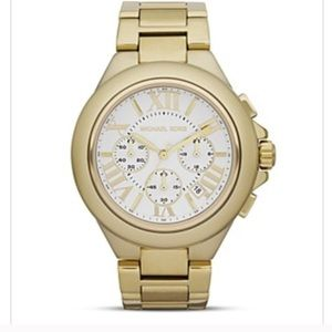 Michael Kors Camille Gold Watch
